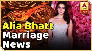 Alia Bhatt speaks about getting married - ABPNEWSTV