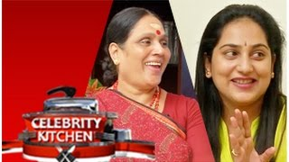 Actresses Shanthi Williams and Gayathri in Celebrity Kitchen – PuthuYugam TV Show