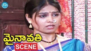 Mynavathi Movie Scenes - Seethabhai Tortures Mynavathi || Anil, Chitralekha - IDREAMMOVIES