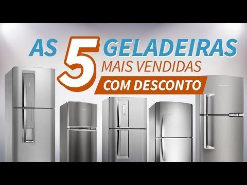 Geladeira Frost Free: As 5 geladeiras Inox Mais Vendidas