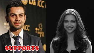 Virat Kohli comes in support for the 'Woman Empowerment video' | Bollywood News