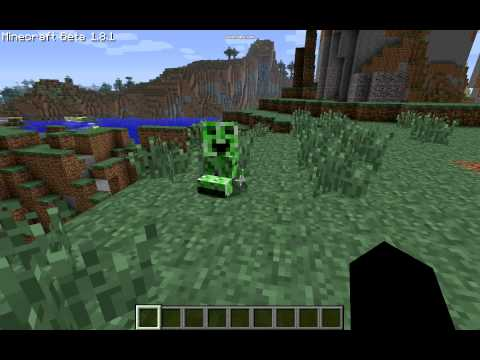 Minecraft Babby Creeper Mod