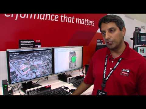 Virtualized Multi-monitor Workstation using AMD FirePro™ R5000 Remote Graphics