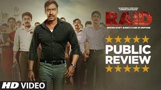 PUBLIC REVIEW: RAID |  Ajay Devgn | Ileana D'Cruz | Movie In Cinemas Now - TSERIES