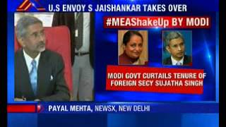 U.S envoy S Jaishankar takes charge as foreign secretary - NEWSXLIVE