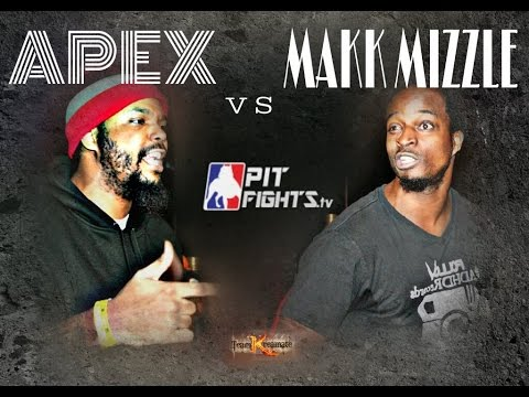 PIT FIGHTS BATTLE LEAGUE:APEX VS MAKK MIZZLE: DEATHMAS 3