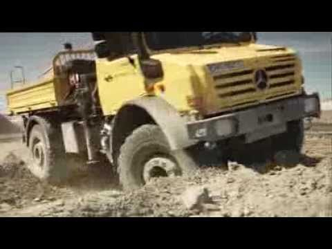 ► Mercedes-Benz UNIMOG - OFF ROAD
