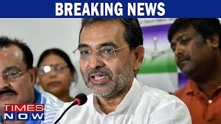 Setback to NDA: RLSP chief Upendra Kushwaha quits as Union minister - TIMESNOWONLINE