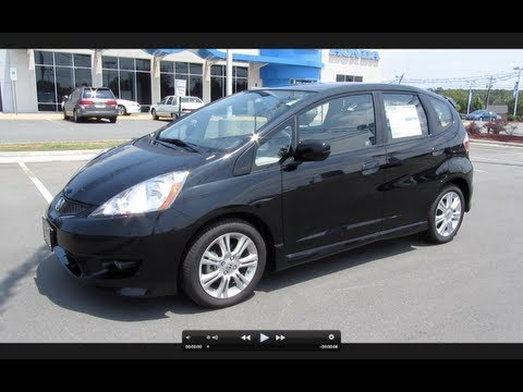 2011 Honda Fit Sport Start Up, Engine, and In Depth Tour