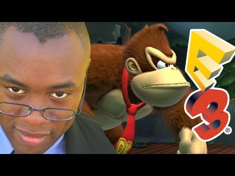 DONKEY KONG COUNTRY TROPICAL FREEZE E3 REVIEW : Black Nerd Reviews