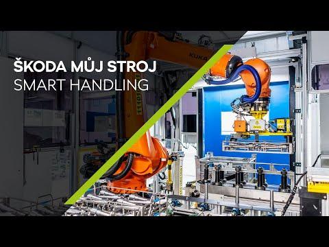 Autoperiskop.cz  – Výjimečný pohled na auta - Společnost ŠKODA AUTO v závodě ve Vrchlabí využívá chytrého manipulačního robota