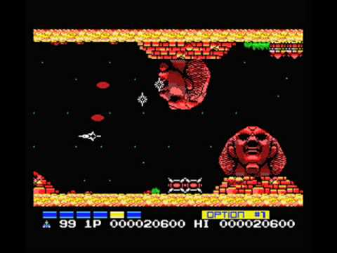 Nemesis 2 - MSX - Unused Beta Track - Synthetic Life