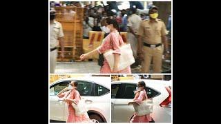#DeepikaPadukone सारा और श्रद्धा से पूछताछ, NCB ऑफिस पहुंचीं तीनों अभिनेत्रियां