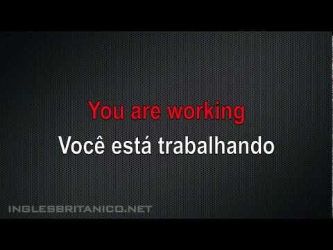 Aula de Inglês - Aprender o Verbo to be - Ser e Estar