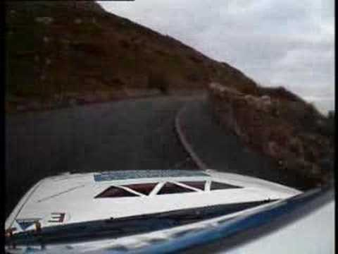 Matt Edwards Great Orme on the Cambrian Rally 2006