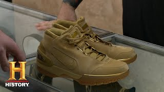 Pawn Stars: Lebron James Air Zoom Generation Nike Shoes (Season 12) | History - HISTORYCHANNEL