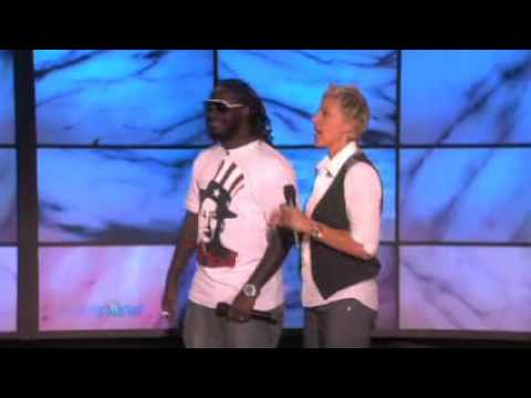 Ellen Auto Tuning with T Pain 