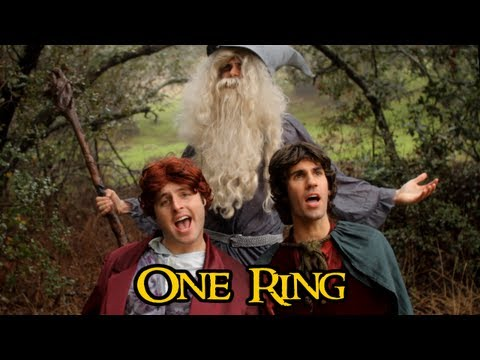 The Hobbit - ONE RING (One Direction 'One Thing' Parody)