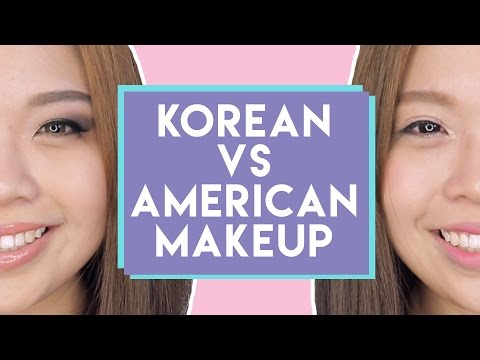 KOREAN VS AMERICAN MAKEUP | PrettySmart EP: 97