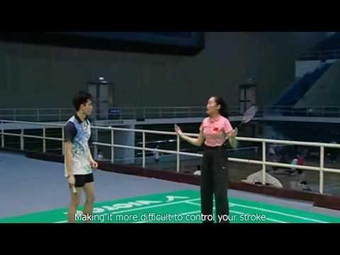 ZH&XJ Badminton Lesson Ep 13 part 1 Slice And PushShots