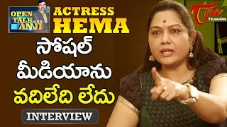 Actress Hema Exclusive Interview | Open Talk with Anji | #08 | Telugu Interviews - TELUGUONE