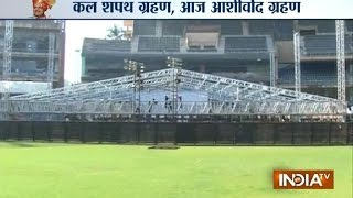 Wankhede Stadium all set for a new innings tomorrow - INDIATV