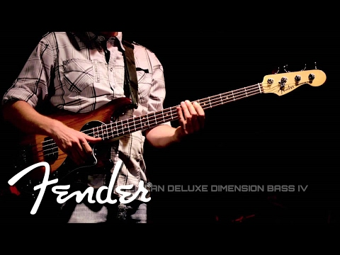 NEW Fender Dimension Bass