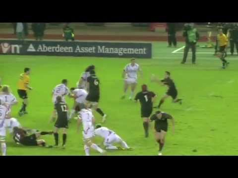 Mike Blair Rugby Highlights/Best bits4.