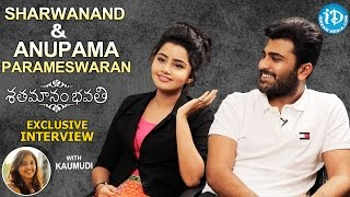 Shatamanam Bhavathi Actors Sharwanand & Anupama Parameswaran Interview || Talking Movies #265 - IDREAMMOVIES