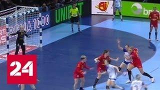 Российские гандболистки сыграют в финале чемпионата Европы