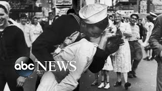 US sailor kissing nurse in famous WWII photo dies - ABCNEWS