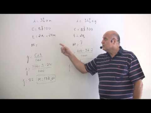 Matemática Financeira - Juros Simples - CESPE