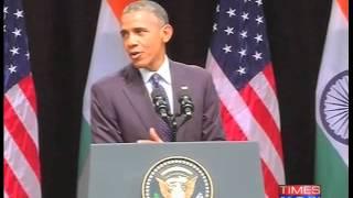 "President Barack Obama quotes DDLJ:""Senorita... bade bade deshon mein... you know what I mean,"" - TIMESNOWONLINE"