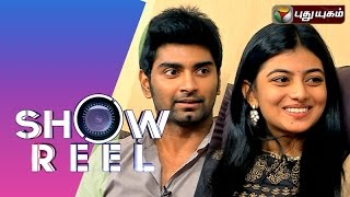 Actor Atharvaa & Actress Anandhi in Showreel 02-08-2014  PuthuYugam TV Show