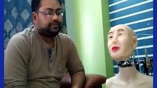रांची के एक शख्स ने बनाया हिंदी बोलने वाला रोबोट - ITVNEWSINDIA