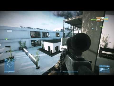 BF3 Gun Master: Longest 26 kill streak and win - Ziba Tower PC