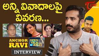 Anchor Ravi Exclusive Interview | Open Talk with Anji | #16 | Telugu Interviews - TELUGUONE