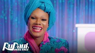 Maya Angelou aka Chi Chi DeVayne Will Bust A Rhyme on Yo' Ass   RuPaul's Drag Race All Stars - VH1