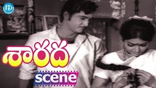 Sarada Movie Scenes - Shobhan Babu Marries  Sharada || Jayanti || Allu Ramalingaiah - IDREAMMOVIES