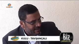 Tavsançali Muhtari Mustafa Yerlikaya KON TV'de