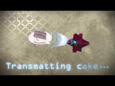 Transmatting Cake... (Animation Loop)