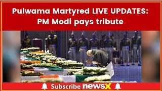 Pulwama Updates; Martyred LIVE UPDATES; Thousands gather to pay tributes to martyr CRPF jawans - NEWSXLIVE