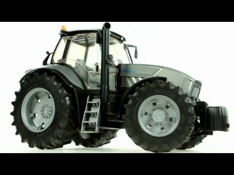 Lamborghini R8.270 DCR tractor with frontloader – Muffin Songs' Oyuncakları Tanıyalım