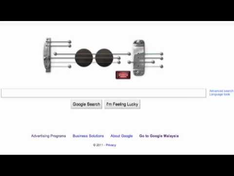 Google Doodle - Can't take my eyes off you