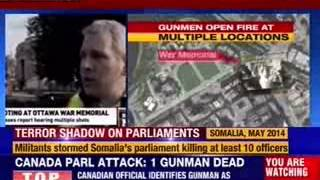 Attack on parliament, killing of soldier stun Canada's capital - NEWSXLIVE
