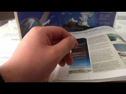 Capas de la atmósfera - Desde la troposfera hasta al exosfera