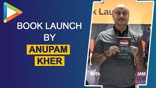 VIVEK AGNOHOTRI Book launch Urban naxals by ANUPAM KHER - HUNGAMA