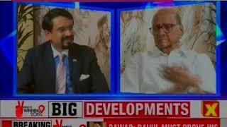Sharad Pawar Exclusive Interview on PM Narendra Modi, Sadhvi Pragya Thakur, Lok Sabha Election 2019 - NEWSXLIVE