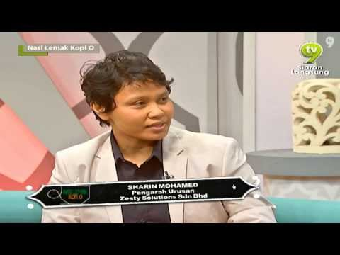 Simply Sandwiches Co-Founder in NLKO NTV7 with Dr Azizan Osman
