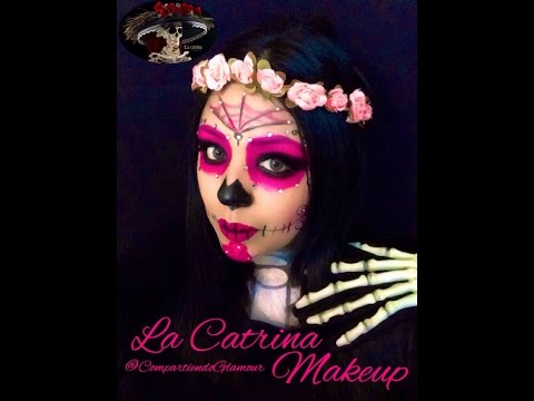 La Catrina Mexicana Makeup